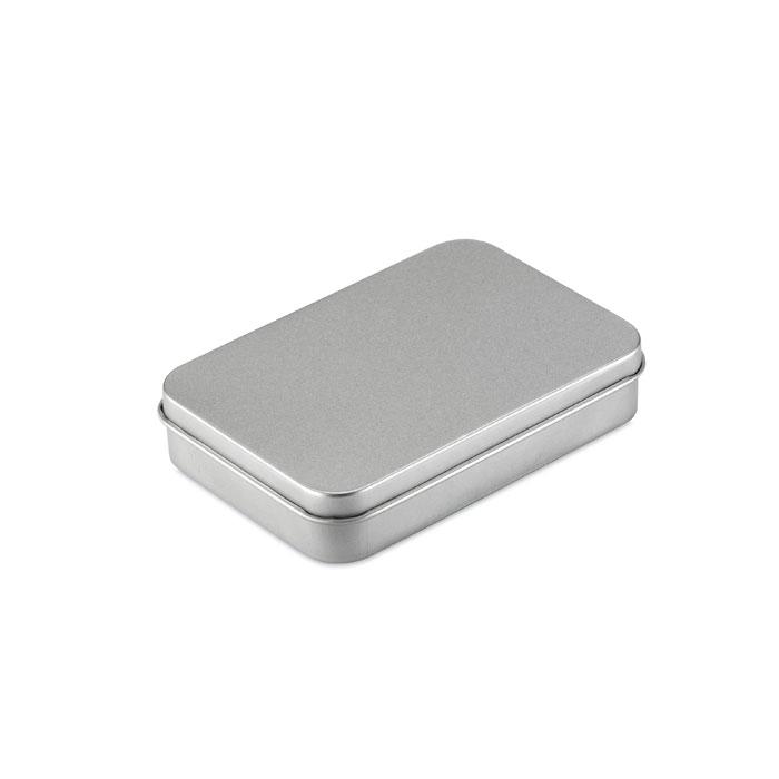 """MO7529-16 - Karty do gry, metalowe pudełko  """"Amigo"""" - 1"""