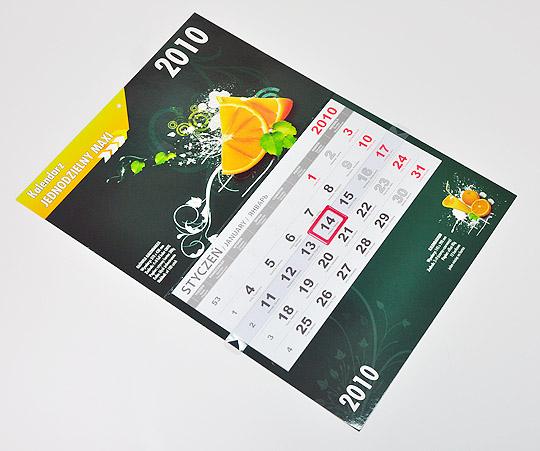 CH-JPP - Kalendarz główka płaska, Premium (480x318mm) - 5