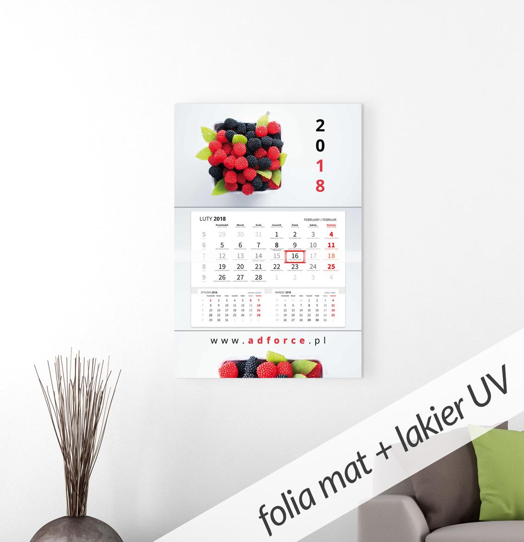 CH-JPP - Kalendarz główka płaska, Premium (480x318mm) - 1