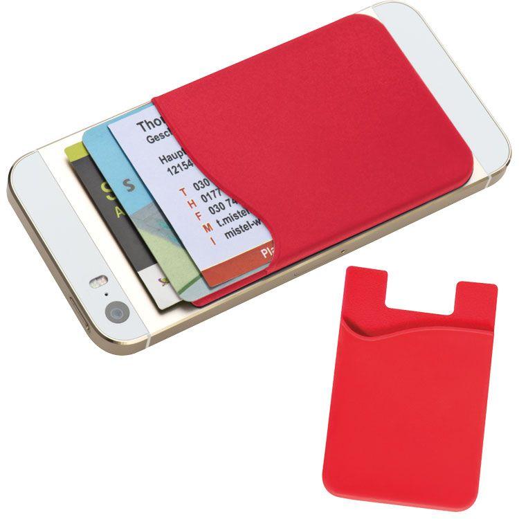 EG286405 - Silikonowy pokrowiec na kartę do smartfona - 1