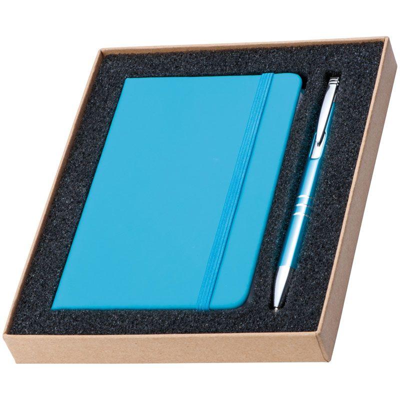 EG287514 - Zestaw: Notes A6 z długopisem w pudełku - Hamburg - 3