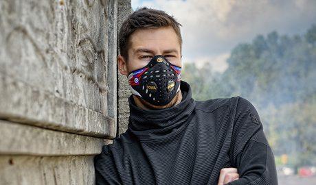 Maski antysmogowe indywidualny projekt z nadrukiem